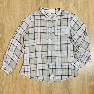 🎉5 for $25🎉 Old Navy Plaid Button Down
